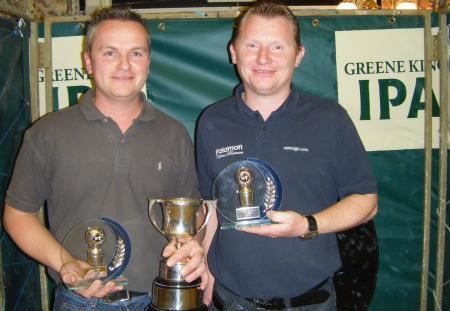 Steve Ward and Pete Rampton – the 2009 winners – are through to the last eight
