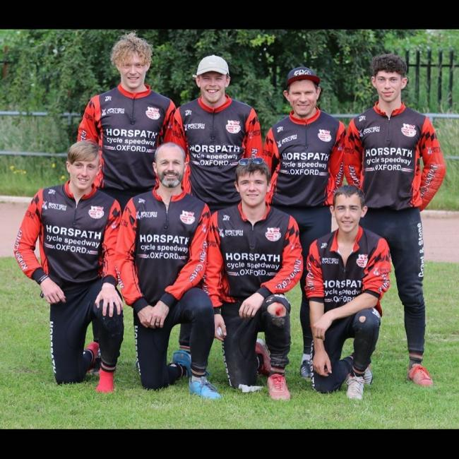 The victorious Horspath Hammers team