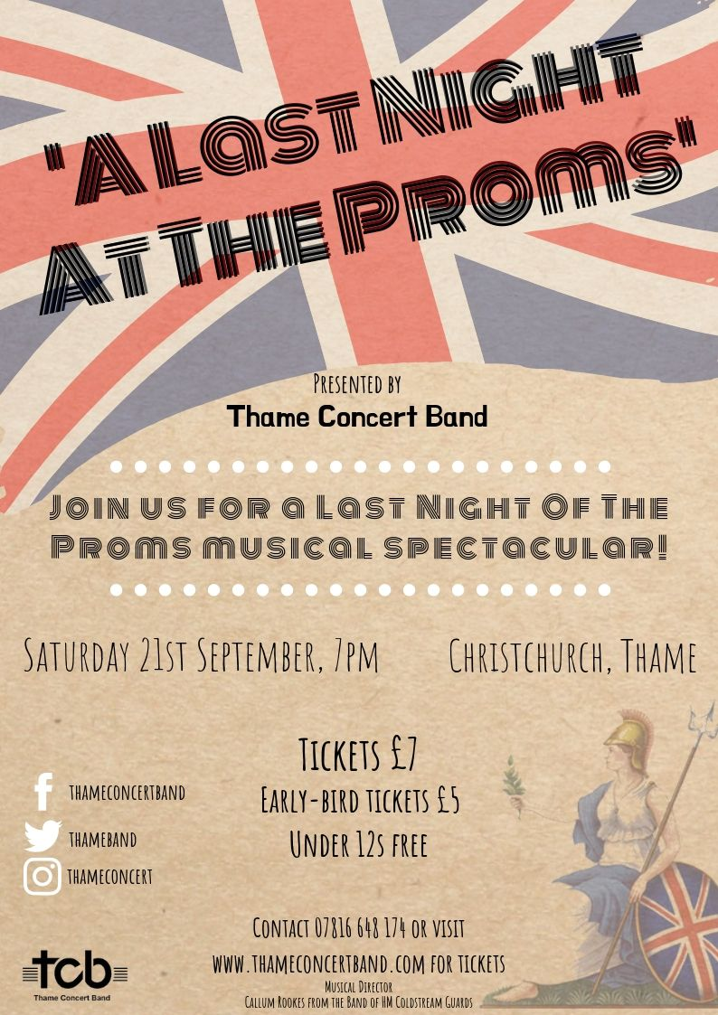 'A Last Night At The Proms' presented by Thame Concert Band