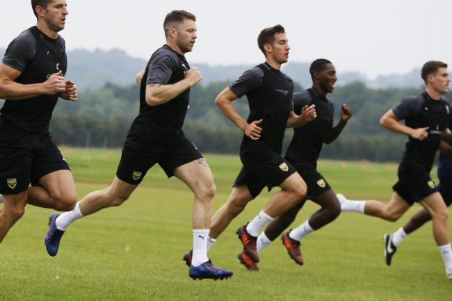 Oxford United's senior players will focus on working at the training ground this week  Picture: Ed Nix
