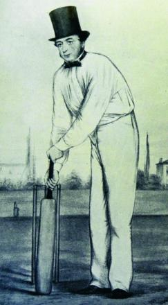 A gentleman cricketer