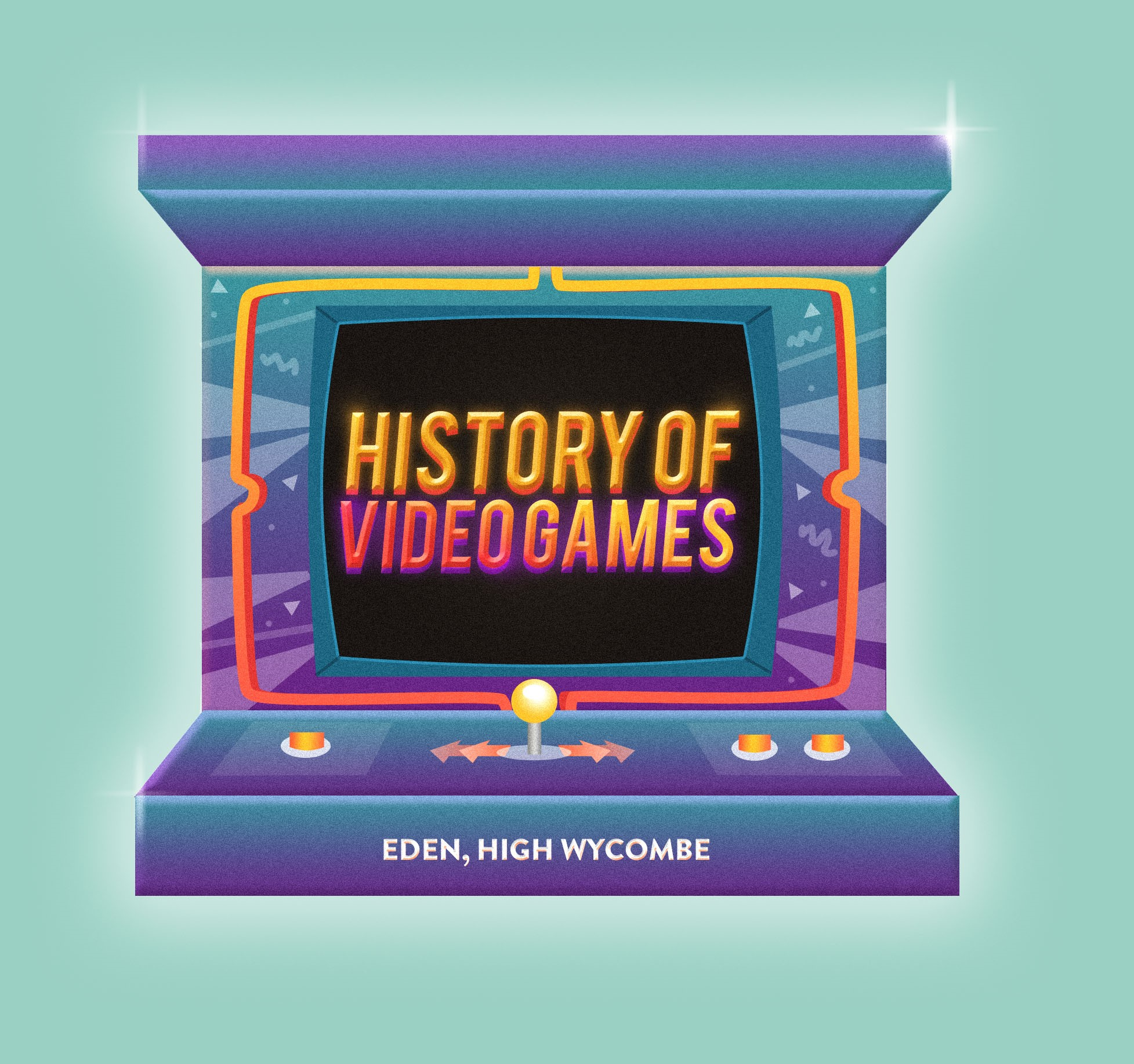 History of Video Games at Eden Shopping Centre