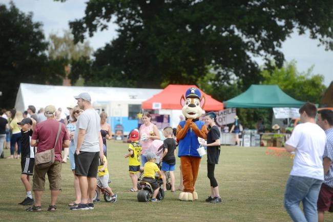 Didcot Summer Fayre at Edmonds Park last year. Picture: Richard Cave