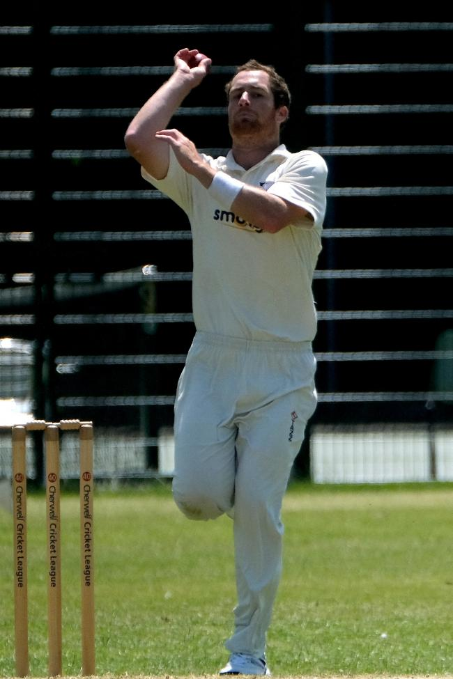 Richard Sillars hit 75 and then claimed two wickets as Oxford Downs drew with Amersham     Picture: Ric Mellis