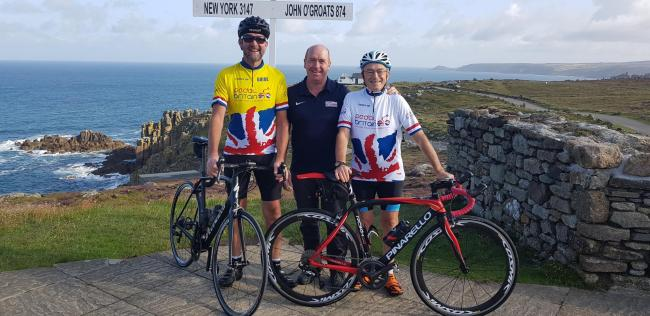 81-year-old Brian Lewis takes on Land's End to John O'Groats cycle challenge