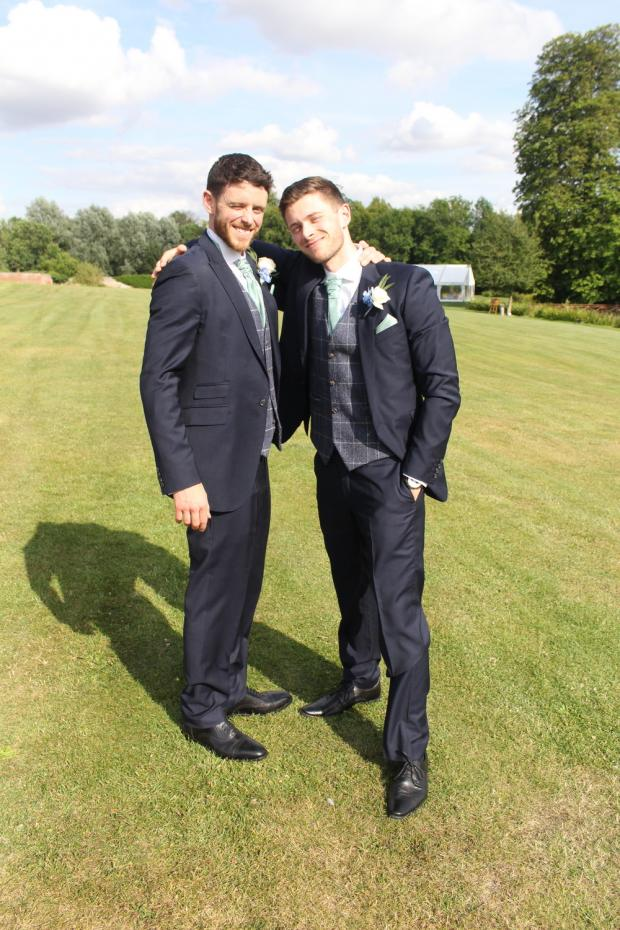 The Oxford Times: Andrew Harper and his brother Sean
