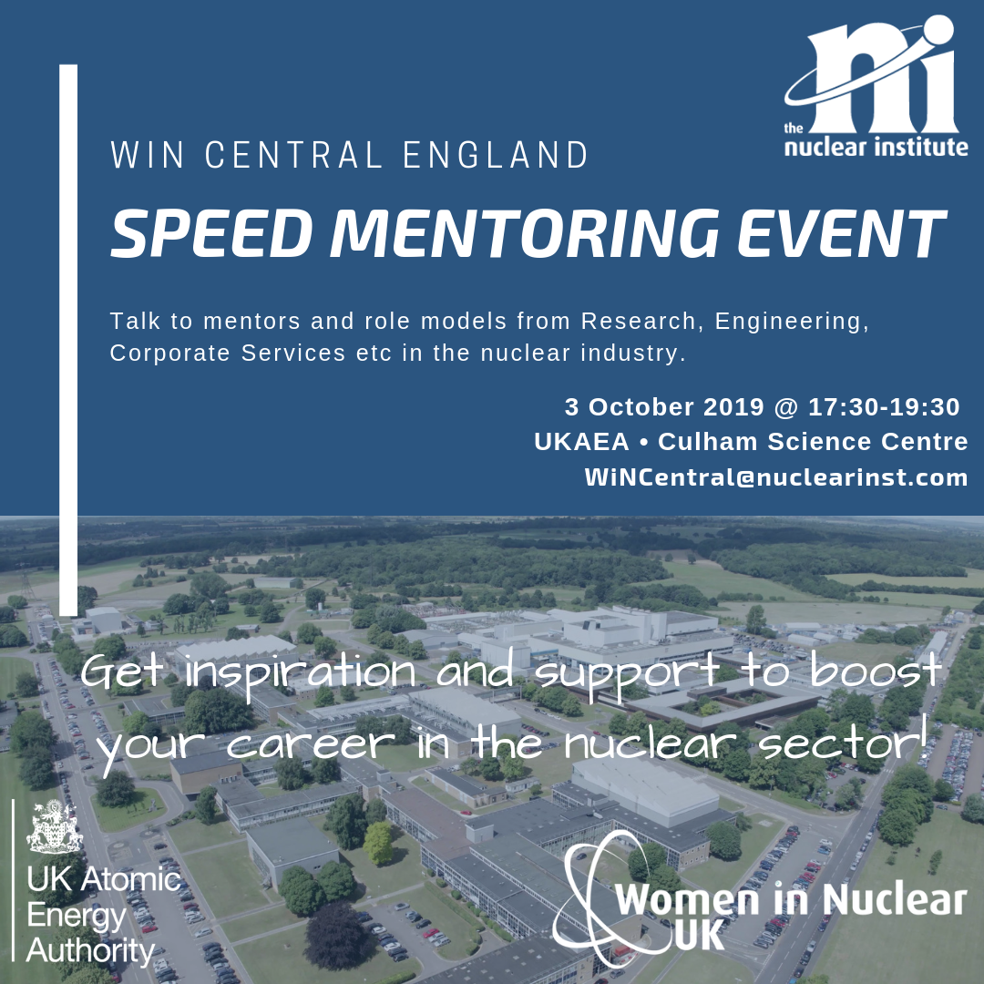 WiN Central Speed Mentoring Event