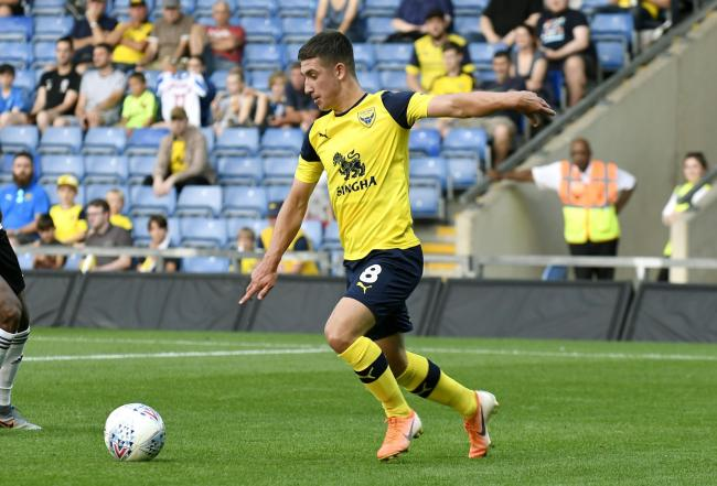 Cameron Brannagan is Oxford United's top scorer this seasonPicture: David Fleming
