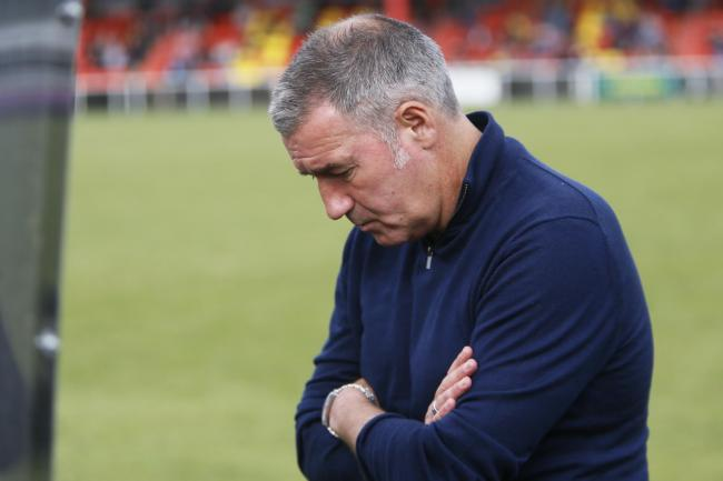 Mike Ford's Banbury United side are out of the FA CupPicture: Ed Nix