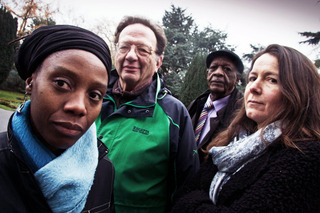 Jennifer Nkumu, Larry Sanders, Hashim Ahmed and Anna Thorne