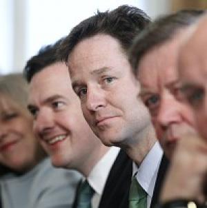 Nick Clegg hit out at critics of the new coalition's plans to make it more difficult for MPs to force out the Government