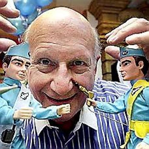 Thunderbirds creator Gerry Anderson