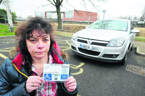 Jo Davies has had a parking fine refunded as one of the beneficiaries of a council-wide ruling