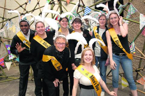 The Oxford Times: Volunteers at last year's Alice's Day
