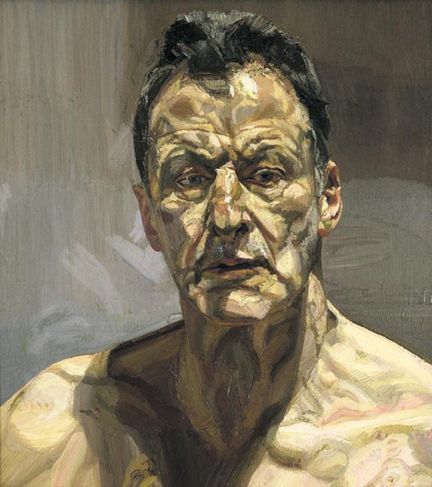 Reflection (Self-portrait), of 1985
