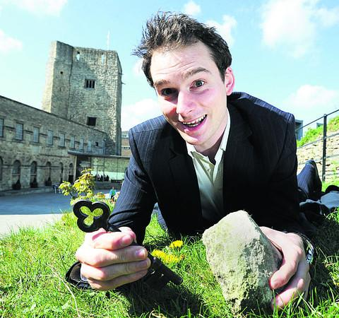 Oxford Castle Unlocked general manager Michael Speight is inviting people to search for hidden keys