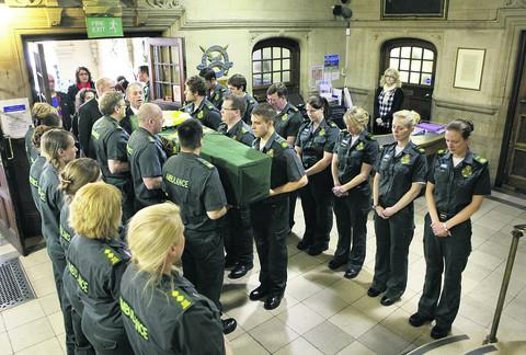 Dedicated ambulance worker mourned