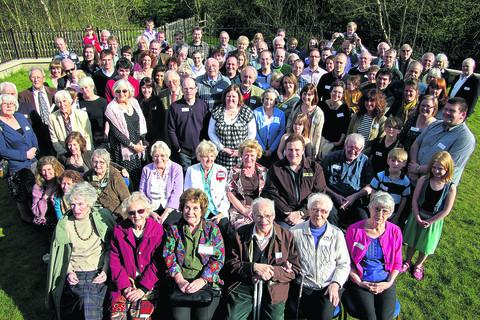 Members of the Delnevo family travelled from across the UK and as far away as America to be at Sunday's reunion