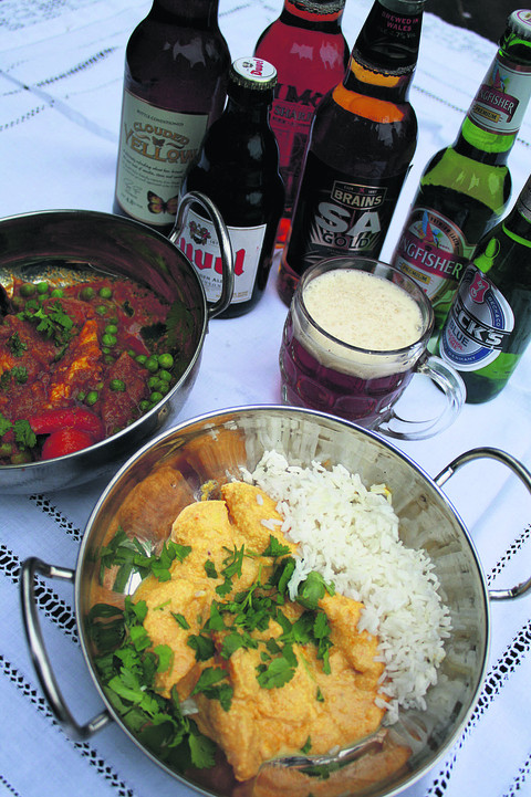 Beer and curry: the perfect match