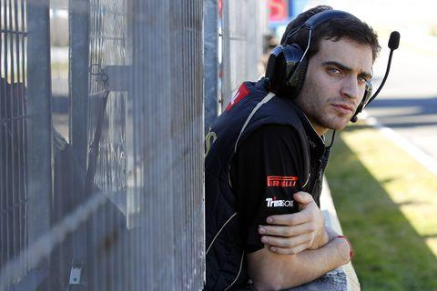 D'Ambrosio to test Lotus F1 car