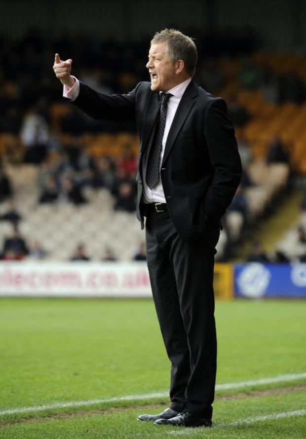 Chris Wilder guided Oxford United to three successive wins last month