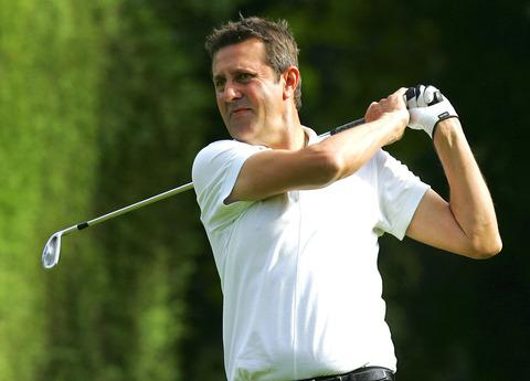 Dusan Gavrilovic was in contention before rattling up a nine at the ninth hole