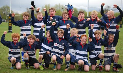 Banbury Under 11s who are going to Twickenham