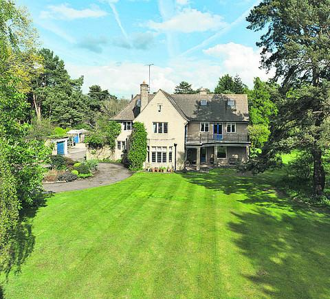 Beechfield House in Frilford Heath is set in four acres