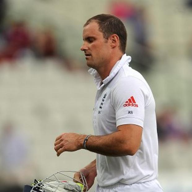 Andrew Strauss was one of three early wickets in England's first innings