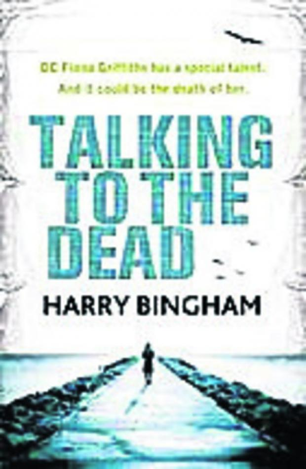 Local author Harry Bingham