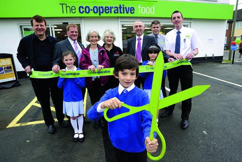 Warm welcome for Co-op