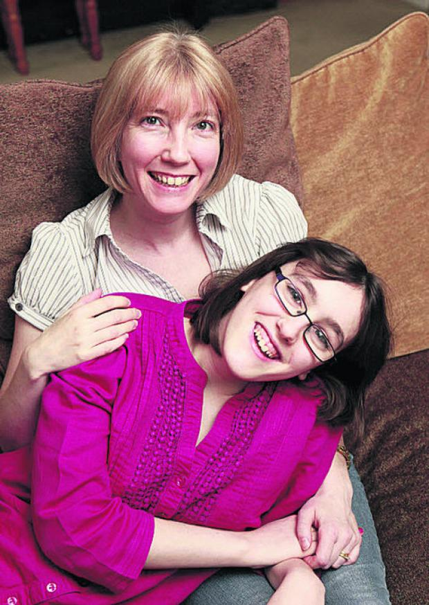 Julia Brown and daughter Niamh