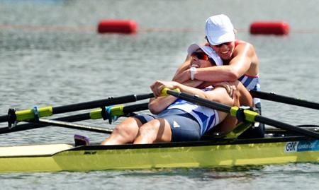Women's Double Sculls bring home the gold. The Men from Oxford get a bronze as does the Men's Single Sculls. These are the best pictures from Day 10 of the Olympics at Dorney Lake.