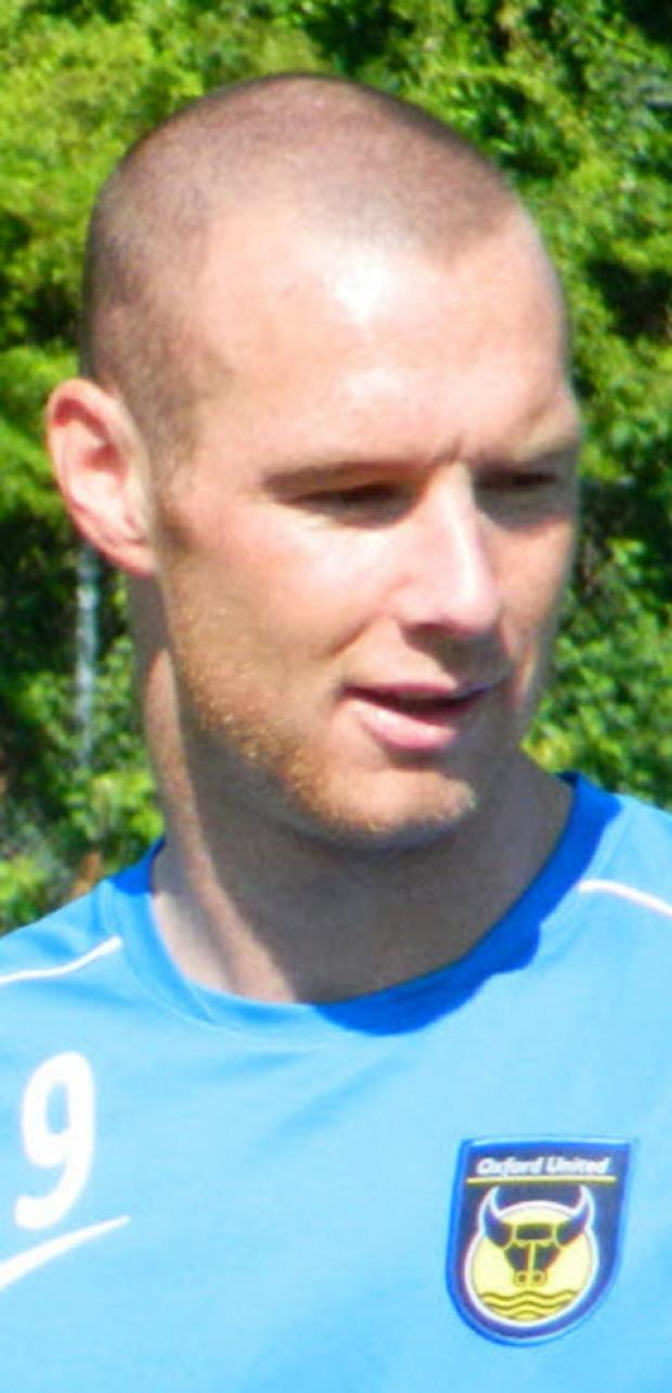 Oxford United striker James Constable