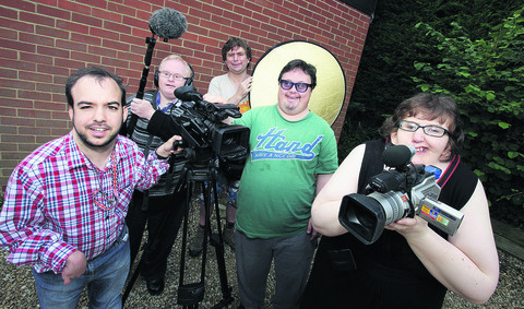 Left to right: Russell Highsmith, Richard Hunt, Mark Hemsworth, Danny Smith and Lucy Skuce