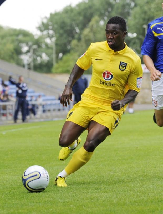 Oxford United striker Jon-Paul Pittman is set to play some part in tonight's friendly at Oxford City