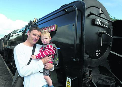 It's full steam ahead for 70000 Britannia fans at Didcot Railway Centre