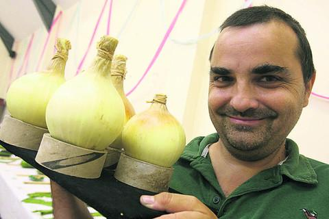 Prize-winning gardener knows his onions