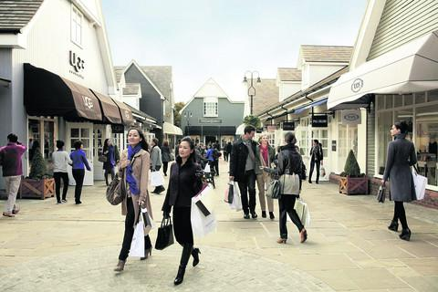 Visitors to Bicester Village from China are up 70 per cent