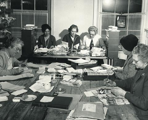 Oxfam staff in 1962