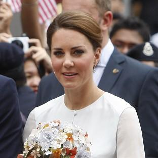 The Duchess of Cambridge and her husband are currently on a royal tour in Malaysia (AP)
