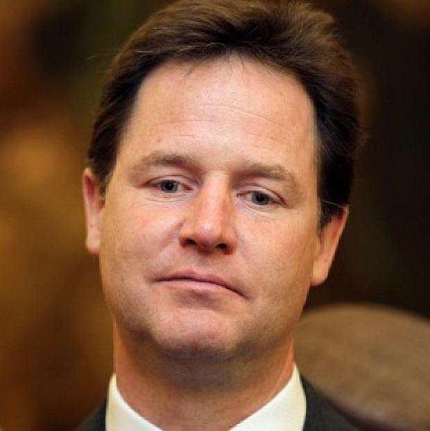 A video making fun of Nick Clegg's latest bid to draw a line under the tuition fee row has swept the internet