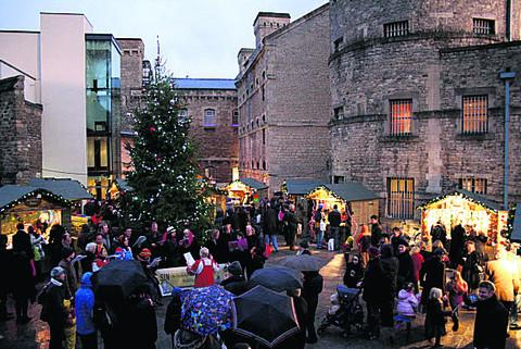 Oxford's Christmas market