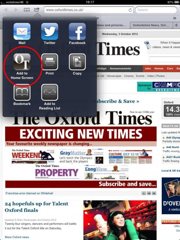 The Oxford Times: ot ipad 2