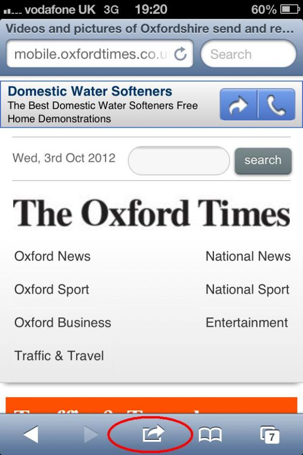 The Oxford Times: ot iphone 1