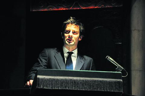 Silent Witness star Tom Ward was one of the readers at last year's event