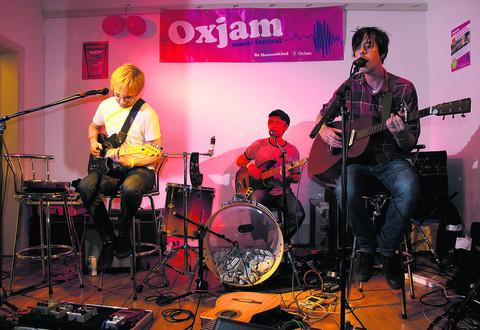 Family Machine play at the Turl Street Kitchen for Oxjam