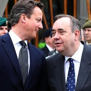 David Cameron is expected to sign a referendum deal with Alex Salmond