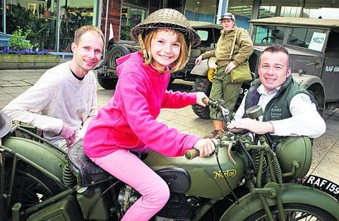 Visitors transported back into the Second World War
