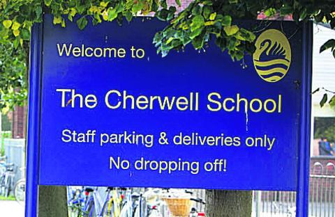 The Cherwell School was the county's top performing state school